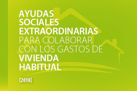 AYUDAS SOCIALES EXTRAORDINARIAS PARA COLABORAR CON LOS GASTOS DE VIVIENDA HABITUAL
