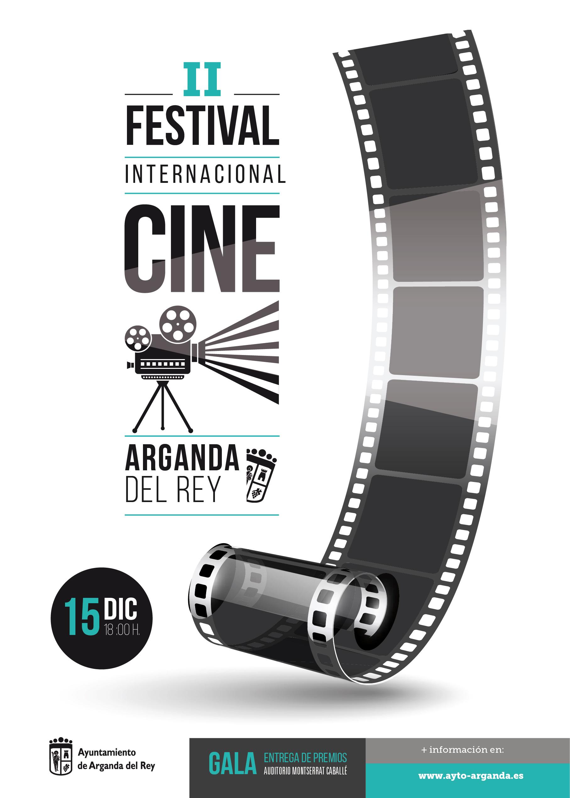 El Ayuntamiento de Arganda del Rey convoca el II Festival Internacional de Cine