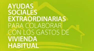 Ayudas Sociales Extraordinarias para colaborar en gastos por vivienda habitual 2019