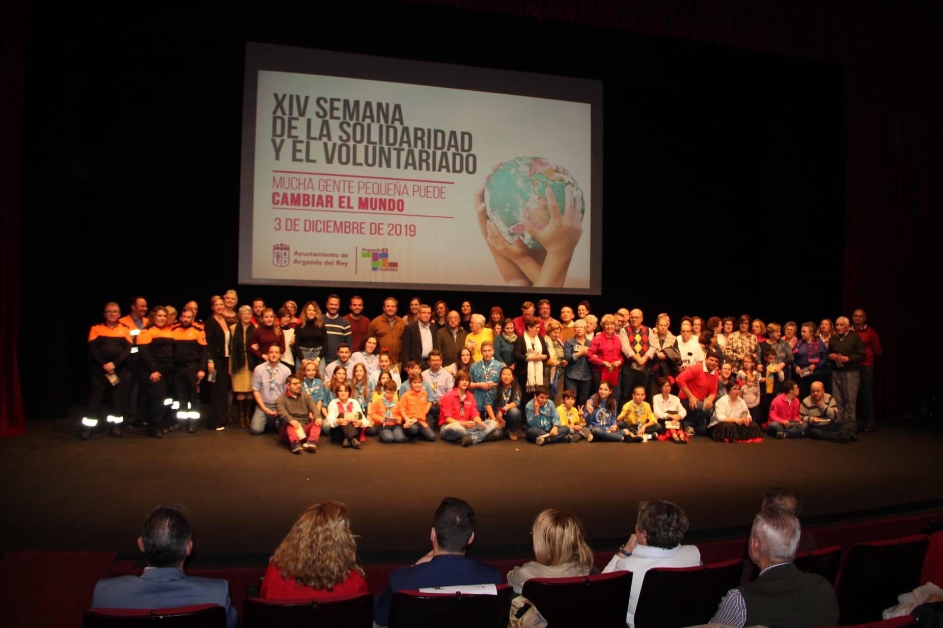 Arganda del Rey celebró el Día Internacional del Voluntariado