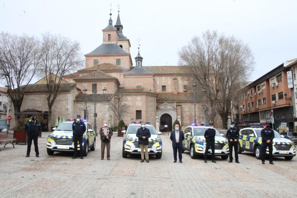 Policía Local de Arganda del Rey cuenta con cuatro nuevos vehículos tipo SUV