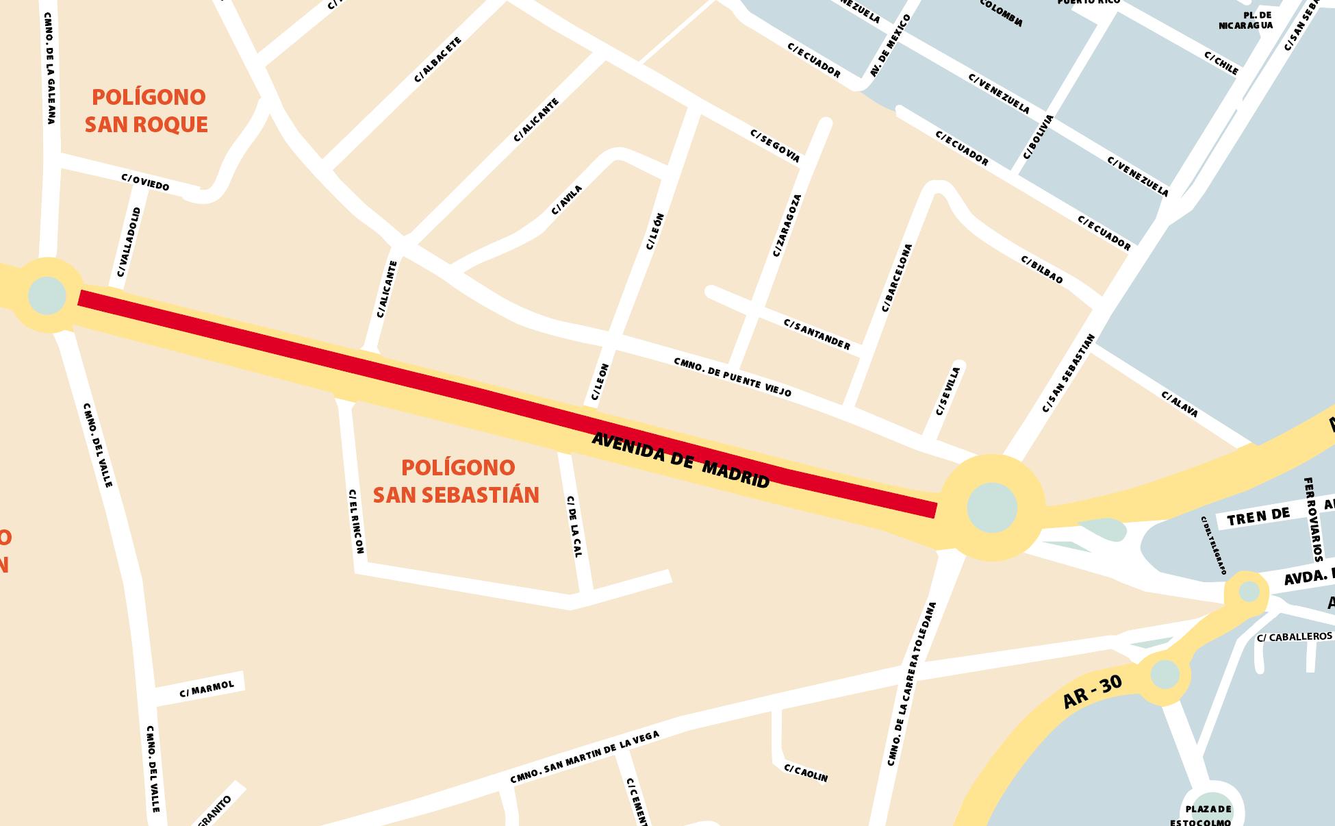 Del lunes 14 al jueves 18 de junio habrá cortes de tráfico en la Avenida de Madrid y el Camino de los Canes debido [...]