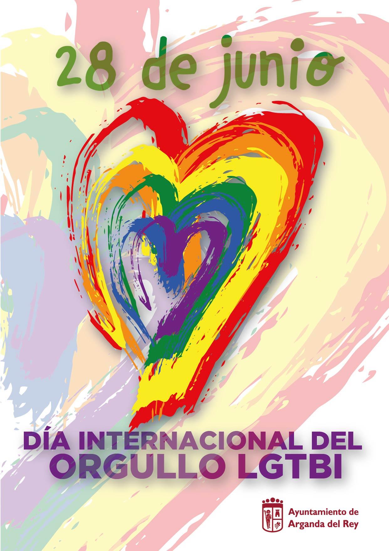"""Con motivo del Día Internacional del Orgullo LGTBI, el Ayuntamiento convoca el certamen de microrrelatos """"Arganda [...]"""