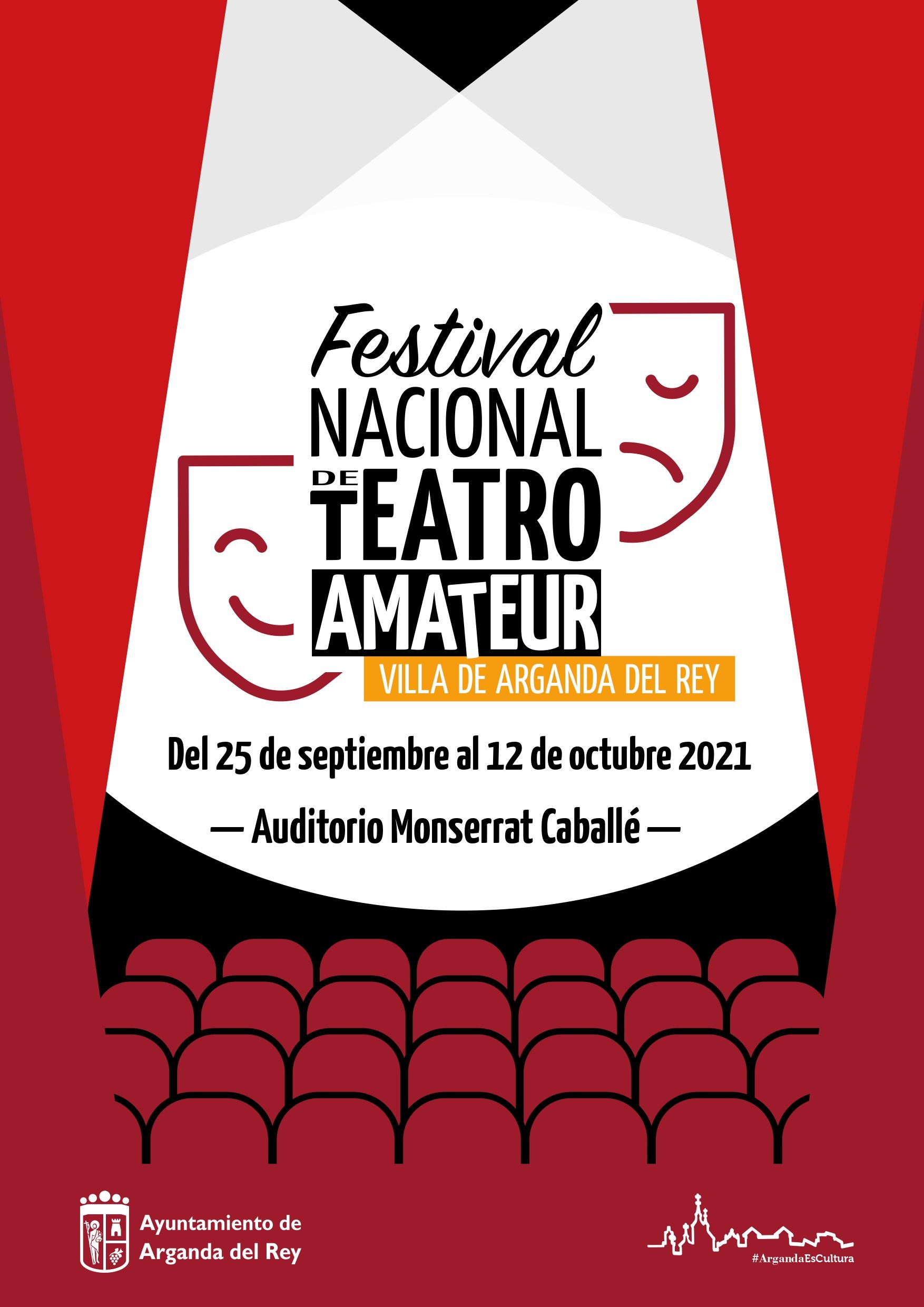 """El I Festival Nacional de Teatro Amateur """"Villa de Arganda del Rey"""" ya conoce sus cinco obras finalistas"""