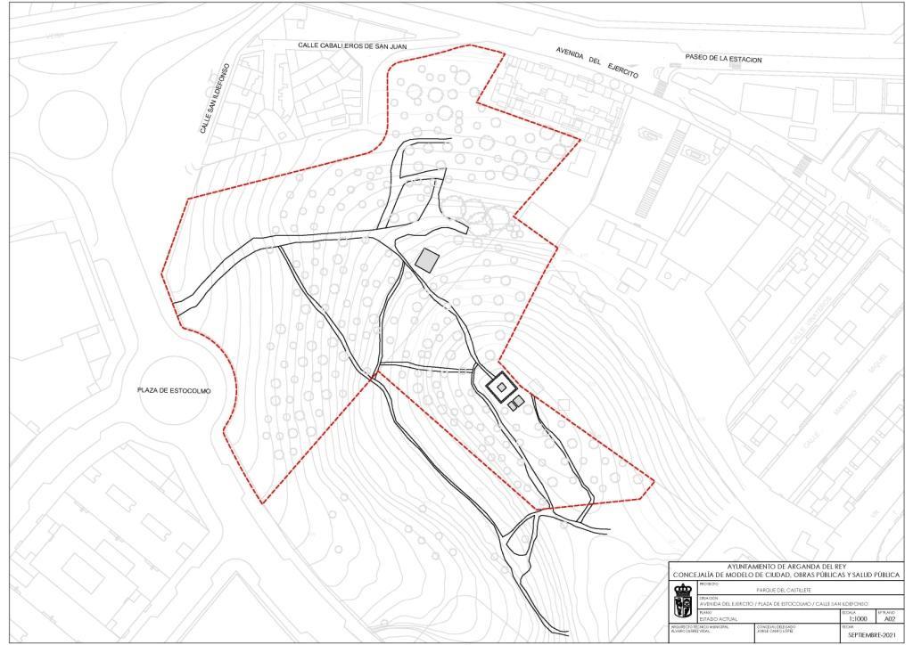 El Ayuntamiento de Arganda del Rey realizará un nuevo parque de 35.000 m2